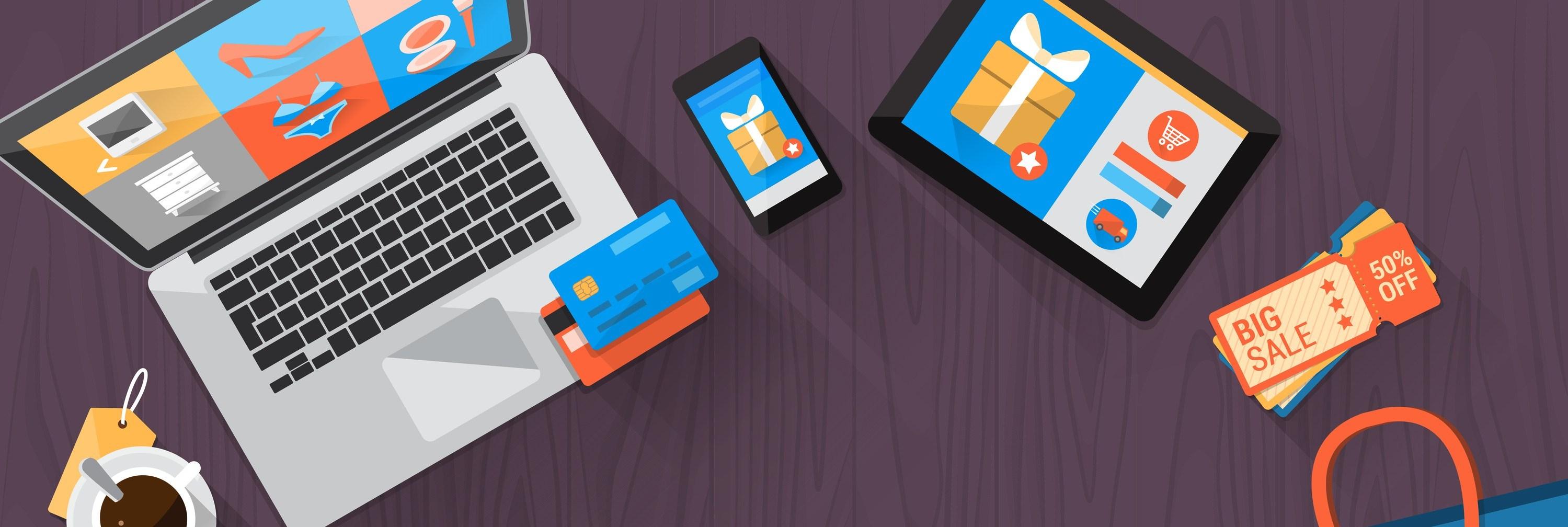 bigstock-Online-Shopping-Desktop-cut